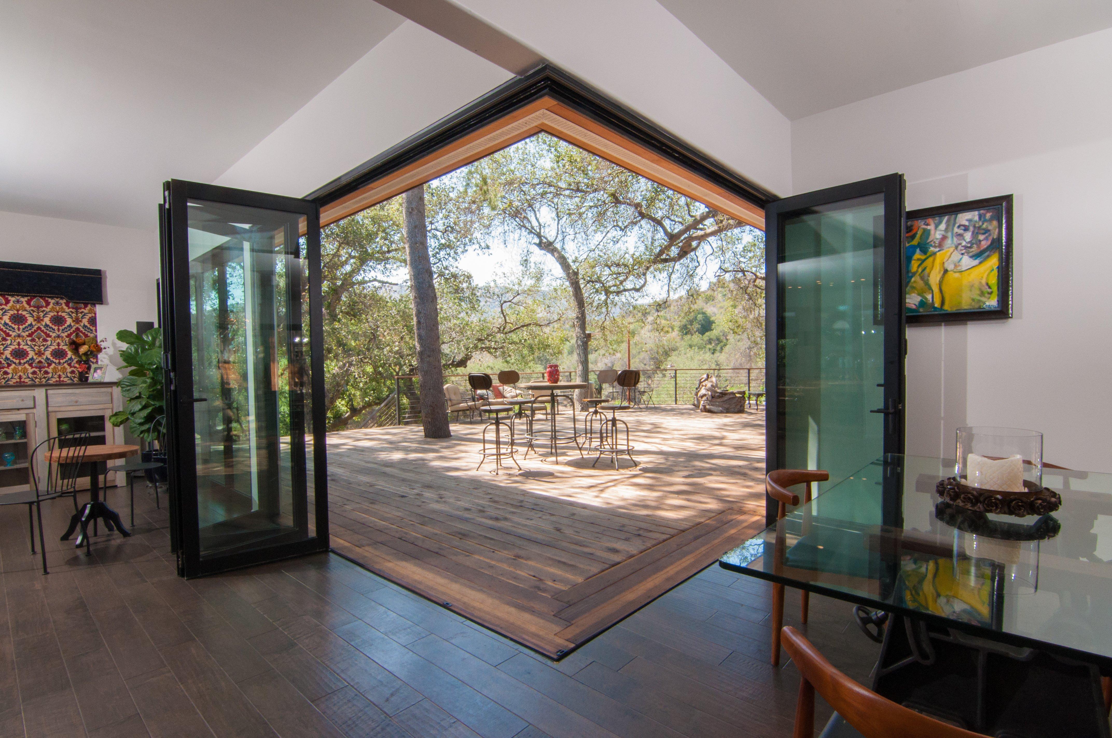E+ Aluminum Folding Glass Doors and Windows & Lanai Doors E+ Energy Efficient Aluminum Folding Glass Door and ...
